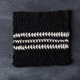 Cookies & Cream Crochet Dishcloth