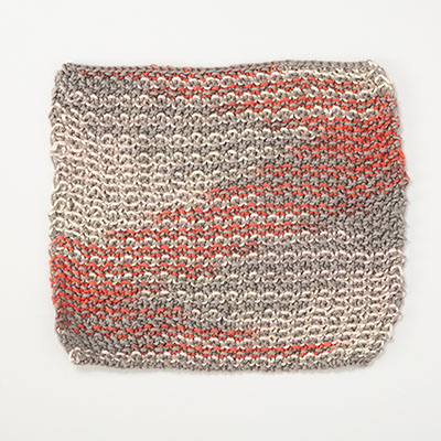Woven Lines Dishcloth