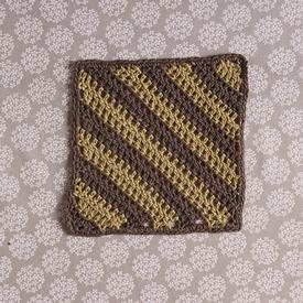 Diagonal Cloth Crochet Pattern