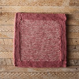 Log Cabin Dishcloth