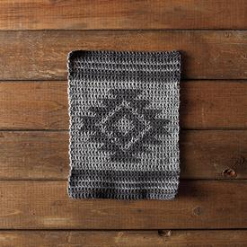 Aztec Crochet Dishcloth