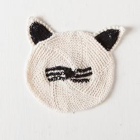 Cat Face Dishcloth