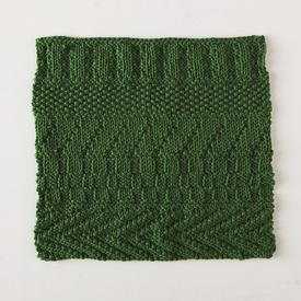 Knits and Purls Dishcloth