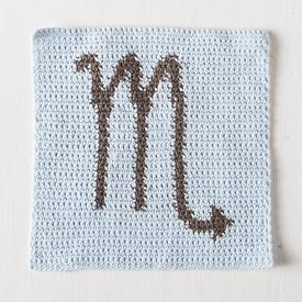 Zodiac Dishcloth Series Scorpio