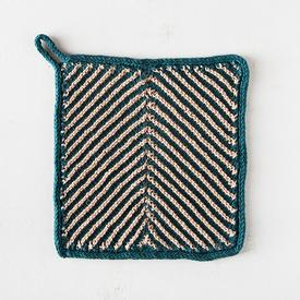 Chevron Tile Dishcloth