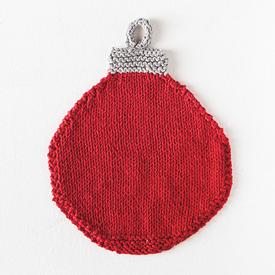 Christmas Bauble Washcloth