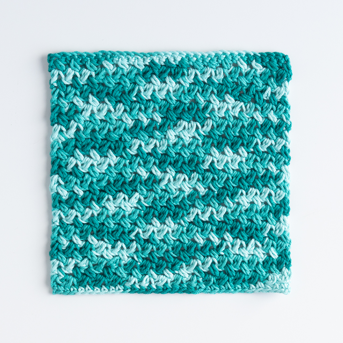 Confused Textures Dishcloth