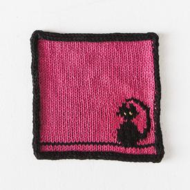 Kitty Dishcloth