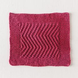 Herringbone Dishcloth