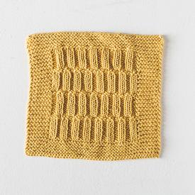 Tucked Rib Dishcloth