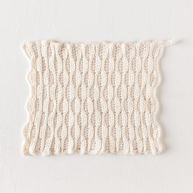 Textured Comb Crochet Dishcloth