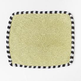Stripy I-Cord Dishcloth