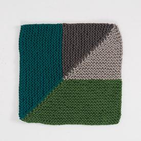 Mitered Quarters Dishcloth