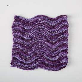Lacy Waves Dishcloth
