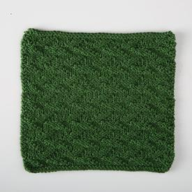 Welted Leaf Dishcloth