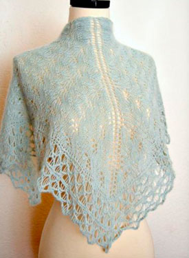 Jade One Skein Shawl Pattern