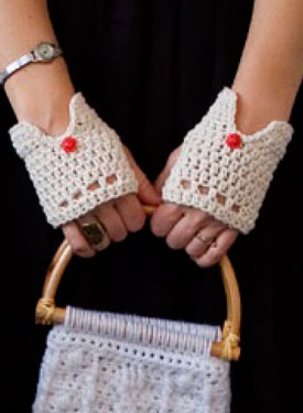Vintage Driving Gloves  Pattern