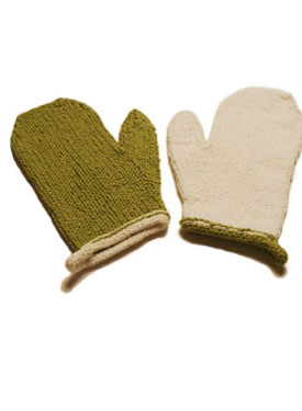 Cotton Wash Mitts Pattern