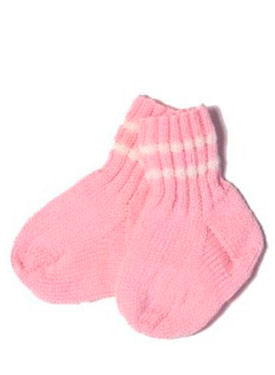 Baby Athletic Socks Pattern