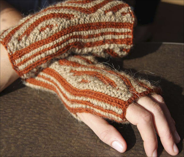 Counting Fingerless Mittens In 1 2 3 4 Colors Ebook Knitting