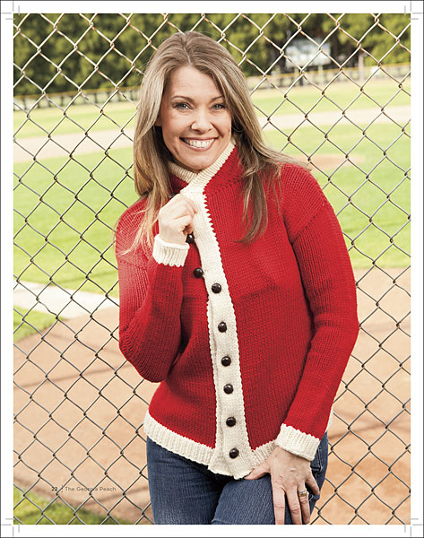 Vintage Inspired Baseball Knits Ebook Knitting Patterns From