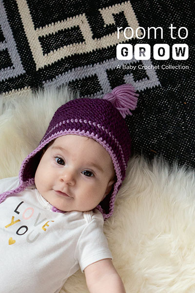 Room to Grow: A Baby Crochet Collection eBook (paid download)