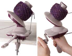 Knitting Yarn Ball Winder