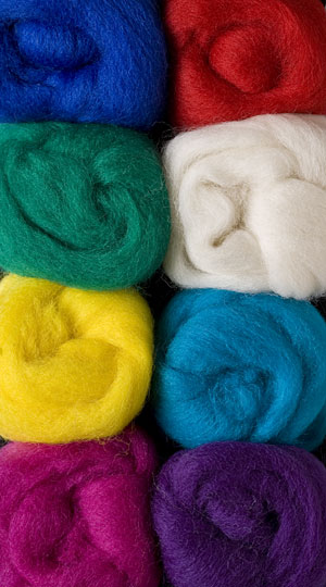 Primary  Wool Roving Pack