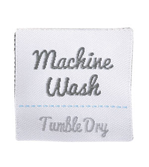 Machine Wash Labels - Set of 6