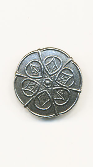 SIRI Pewter 20mm Button