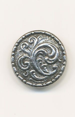 KIRSTIN Pewter 20mm Button