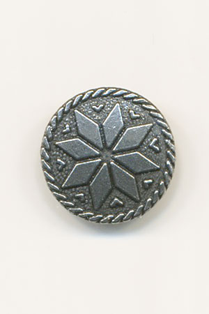HARDANGER Pewter 17mm Button