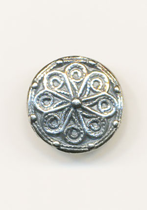 SISSEL Pewter 16mm Button