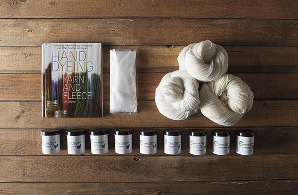 Greener Shades Beginner Yarn Dyeing Kit