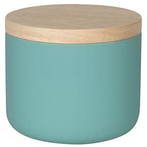 Lagoon Blue Canister - Small
