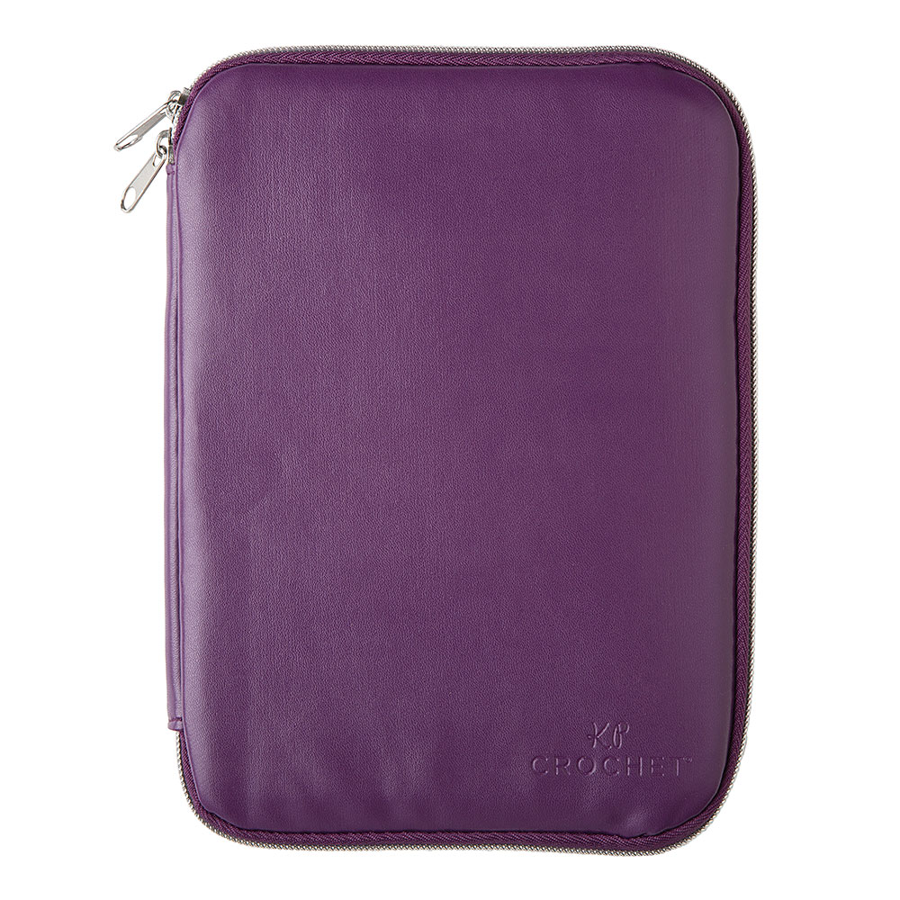 Knit Picks Crochet Hook Case - Purple
