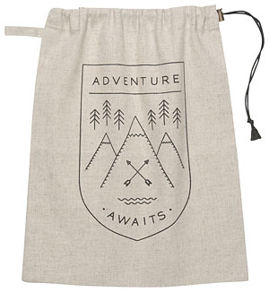 Adventure Awaits Travel Bag