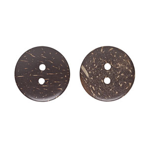 Coconut Buttons, 30mm
