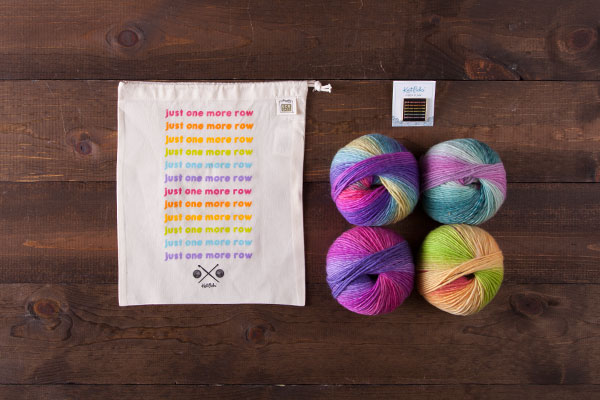Just One More Row Rainbow Pin Kit