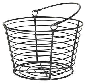 Wire Basket - Black