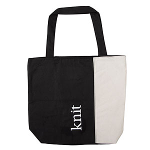 Knit Happy Tote Bag - Knit/Purl