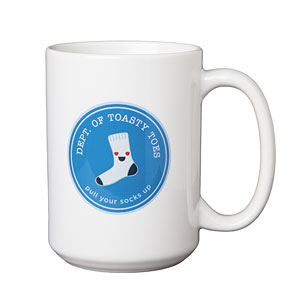 Department of Toasty Toes 15oz Mug
