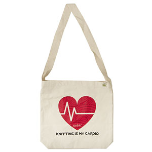 Knitting is my Cardio - Tote Bag