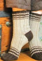 Foote Brook Socks Pattern Pattern