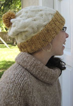 Shake the Barley Hat Pattern Pattern