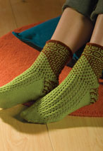 Miss Marple Sock Pattern Pattern