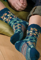 Fishgyle Socks Pattern Pattern