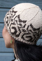 Temple Cats Hat Pattern Pattern