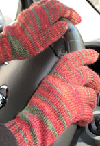 Sock-It-To-Me Gloves Pattern Pattern