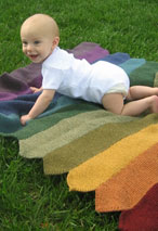 Pickets Baby Blanket Pattern Pattern